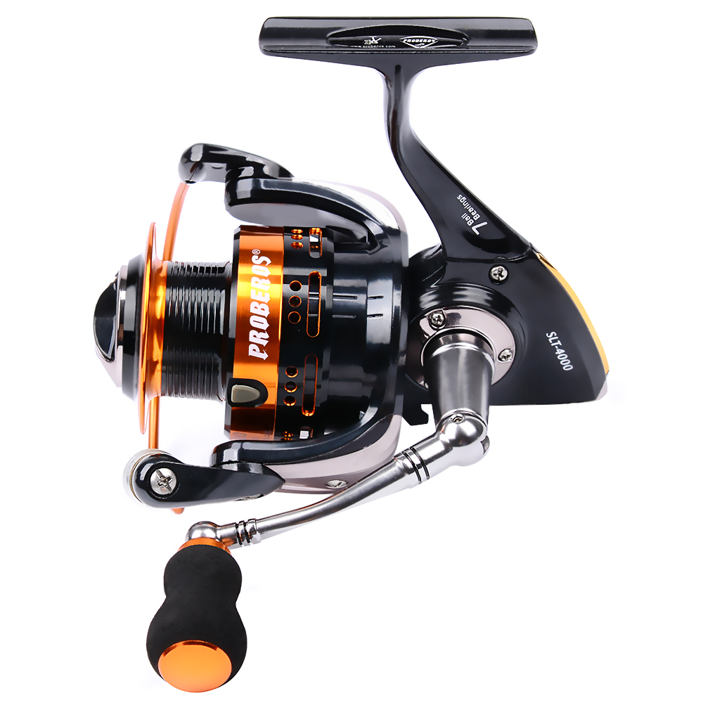 New Aluminum alloy Fishing Reel 18KG Max Drag Sea Boat 1000-8000 Spinning Reel 6+1BB Bearing Ship From Russian warehouse