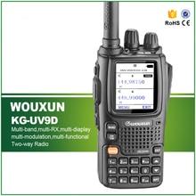 New Arrival Original WOUXUN KG-UV9D Walkie Talkie with Seven Bands Receiption