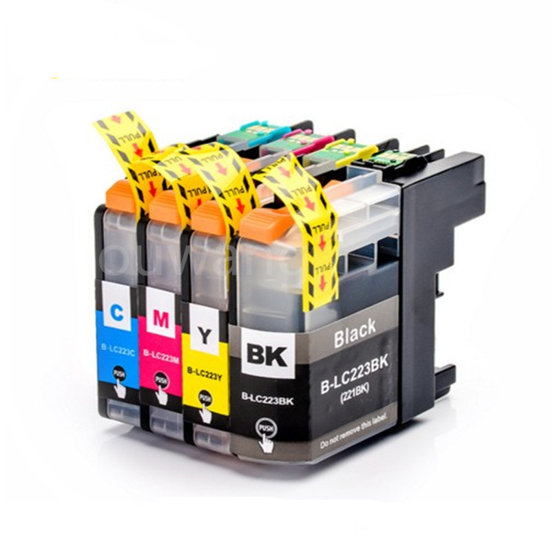 LC223 BK/C/M/Y Full Compatible Ink Cartridge For DCP-J562DW/J4120DW/MFC-J480DW/J680DW/J880DW/J4620DW/J5720DW/J5320DW