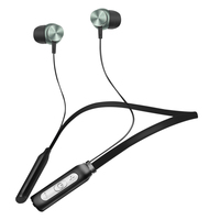 ZAPET Sport Neckhang Bluetooth Earphone IPX4 Rated Waterproof Bass Headset With Mic For Xiaomi Iphone Phone