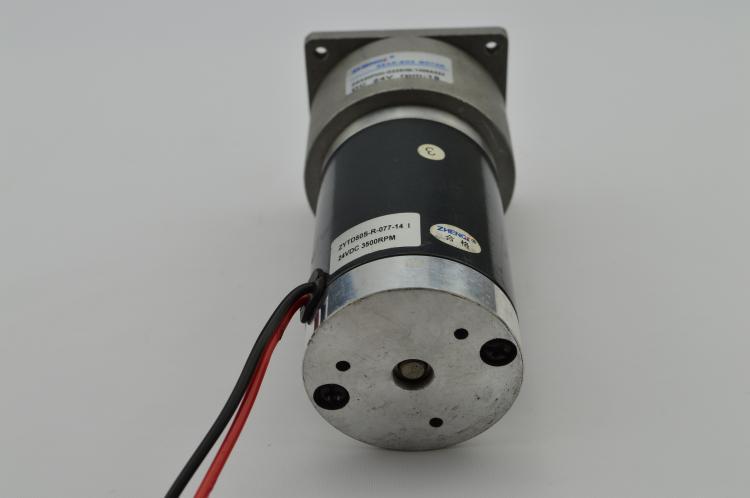 ZGA60FHH-G Gear Motor 60mm Miniature DC Gear Motor 12V 24V Output Shaft