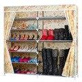 ENVÍO gratis Oxford Zapatos Bastidores De Almacenamiento de Gran Capacidad Zapatero Muebles Para El Hogar de Uso Hogareño Diy Simple