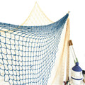 New Arrival Fishing Net Mediterranean Style Beach Scene Party Decoration Net Cotton Thread Handmade Decorative Fishing Nets