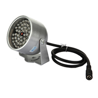 JFBL 2X 2pcs 48 LED Illuminator Light CCTV IR Infrared Night Vision Lamp For Security Camera