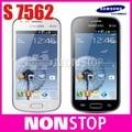 s7562 Original Phone Samsung Galaxy S Duos S7562 dual sim cards phone 3G WIFI GPS Android phones Unlocked refurbished