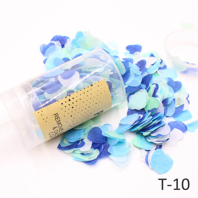 Confetti Plastic Confetti Wedding Birthday Party Decoration Mixed Colors 1PC Throwing props in Banners Streamers Confetti from Home Garden