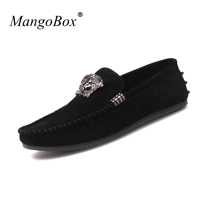 MangoBox Young Boy Casual Shoes Brown Adult Moccasins Sneakers Spring - Men's Shoes - Photo 3