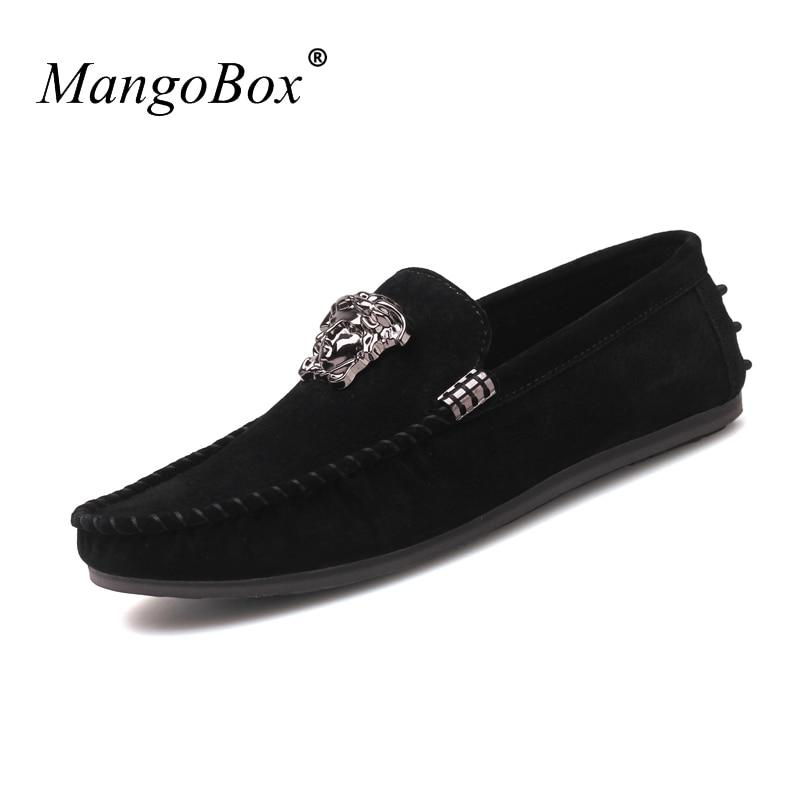 MangoBox Jungen Freizeitschuhe Braun Erwachsenen Mokassins Turnschuhe - Herrenschuhe - Foto 3