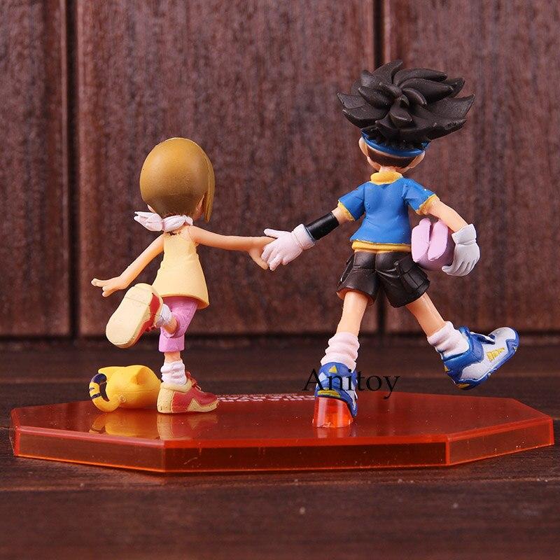 GEM Digimon Adventure Yagami Hikari /& Tailmon PVC Figure New No Box 11cm