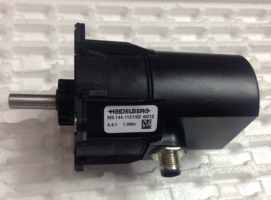 M5.144.1121/02 Geared motor for SM74 Heidelberg printing press 1 year warranty New motor jw7114 370w 1400 turn induction motor warranty for one year
