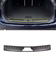 Stainless steel Inner Rear Bumper Guard Plate Cover Trim For Jaguar F-Pace X761 2016-2017 Car Accessories цена