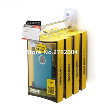 (150 unidades/pacote) cor branca 250mm comprimento atacado supermercado loja móvel anti-roubo segurança gancho