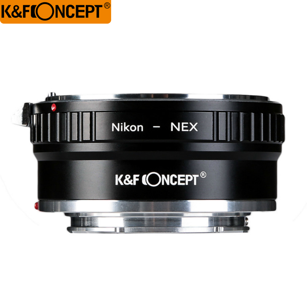 K&F Concept High-precision Lens Adapter AI-NEX For Nikon AI Lens To Sony NEX NEX-5 7 3 F5 5R C3 E Mount Camera цена