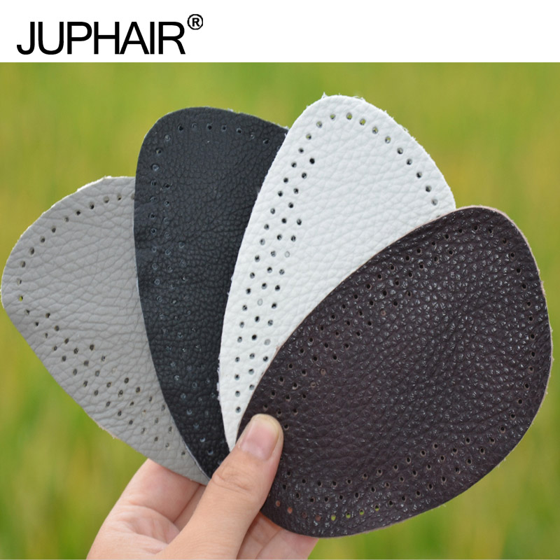 JUP 12 Pairs Genuine Leather Gel Silicone Shoe Pad Insoles women's high heel Cushion Protect Comfy Feet Palm Care Pads Foot Wear 4pairs set women high heel shoe insoles gel insoles foot pain relieve heel protect