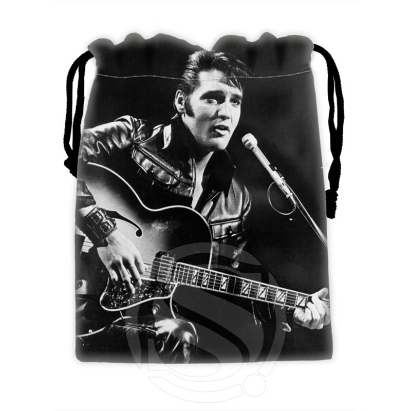 H-P722 Custom Elvis#10 Drawstring Bags For Mobile Phone Tablet PC Packaging Gift Bags18X22cm SQ00806#H0722