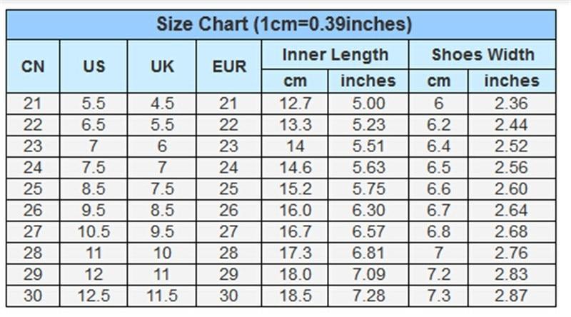 Chinese shoe size chart also mersnoforum rh