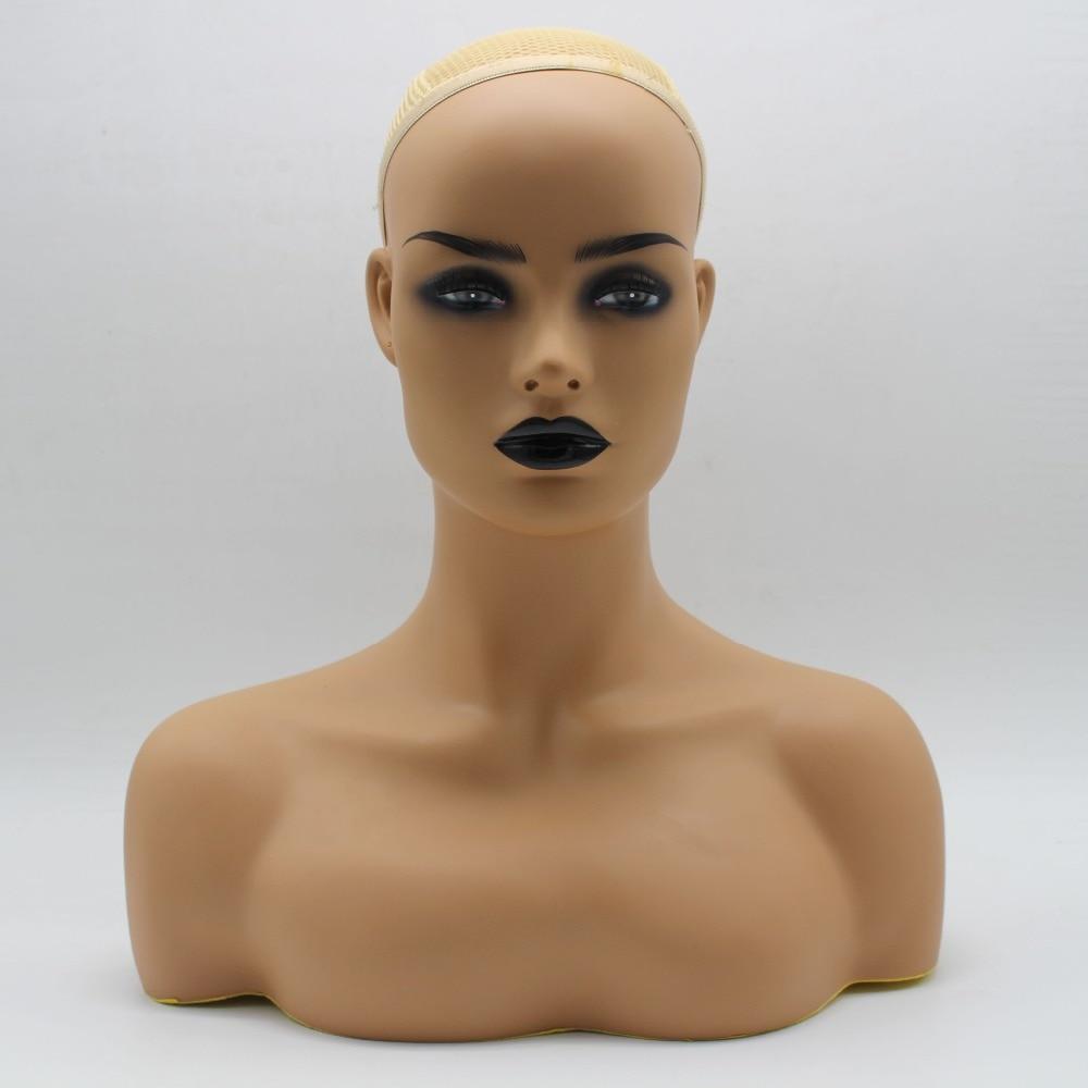 Venta del busto de la cabeza del maniquí del PVC para la joyería de la peluca y la exhibición del sombrero-in Maniquís from Hogar y Mascotas    1