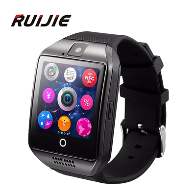 2016 New Bluetooth smart watch Apro Q18 Support NFC SIM GSM Video camera Support Android/IOS Mobile phone Wrist Smartwatch