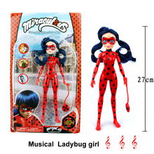 Miraculous Ladybug Comic Ladybug Girl Doll Movable Joints Action Figure Toys Cute Anime Toys for Children Christmas Gifts