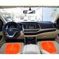 Силиконовые Дышащие Чехлы для Сидений Toyota Corolla Avensis Yaris Rav4 Hilux Prius Auris 2013 2014 2015 Авто аксессуары