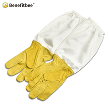 Benefitbee Apicultura Gloves Beekeeping Bee Tools For Beekeeper Protective Durable Sheepskin Equipment Leather