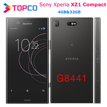 Sony Xperia XZ1 kompaktowy G8441 oryginalny odblokowany 4G telefon komórkowy z androidem octa core 4.6