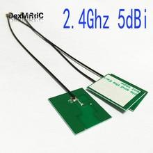 10PC 2.4Ghz 5dbi antenna PCB interno wifi OMNI IPX per IEEE802.11b/g/n WLAN Sistema #2 antenna wifi