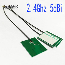 10PC 2.4Ghz 5dbi internal PCB antenna wifi OMNI IPX for IEEE802.11b/g/n WLAN System #2 wifi antenna