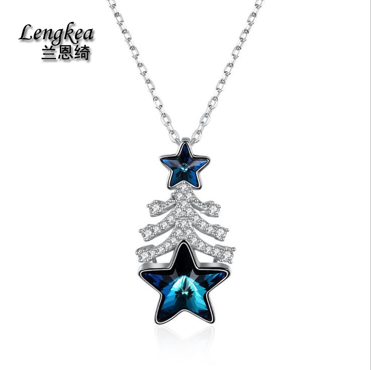 Lengkea jewery,Women necklace,Real 925 silver necklace