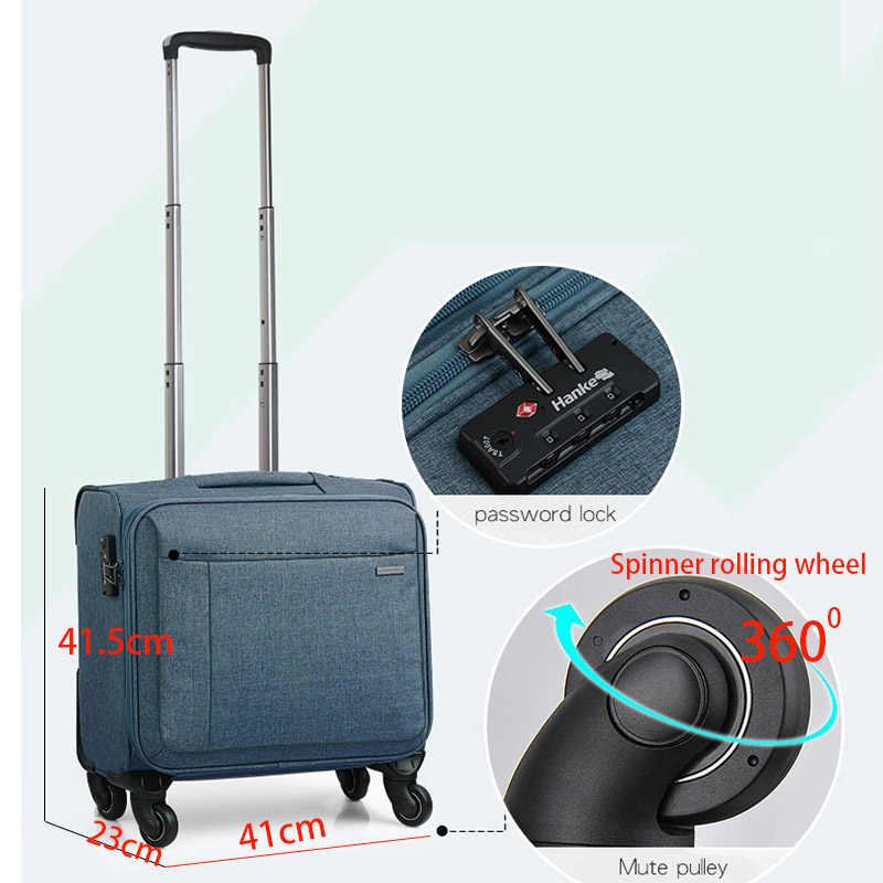 Hanke, деловой дорожный костюм, чехол на колесиках, чемодан, Спиннер, чехол, сумка для багажа, унисекс, переноска, посадочный чехол H8703