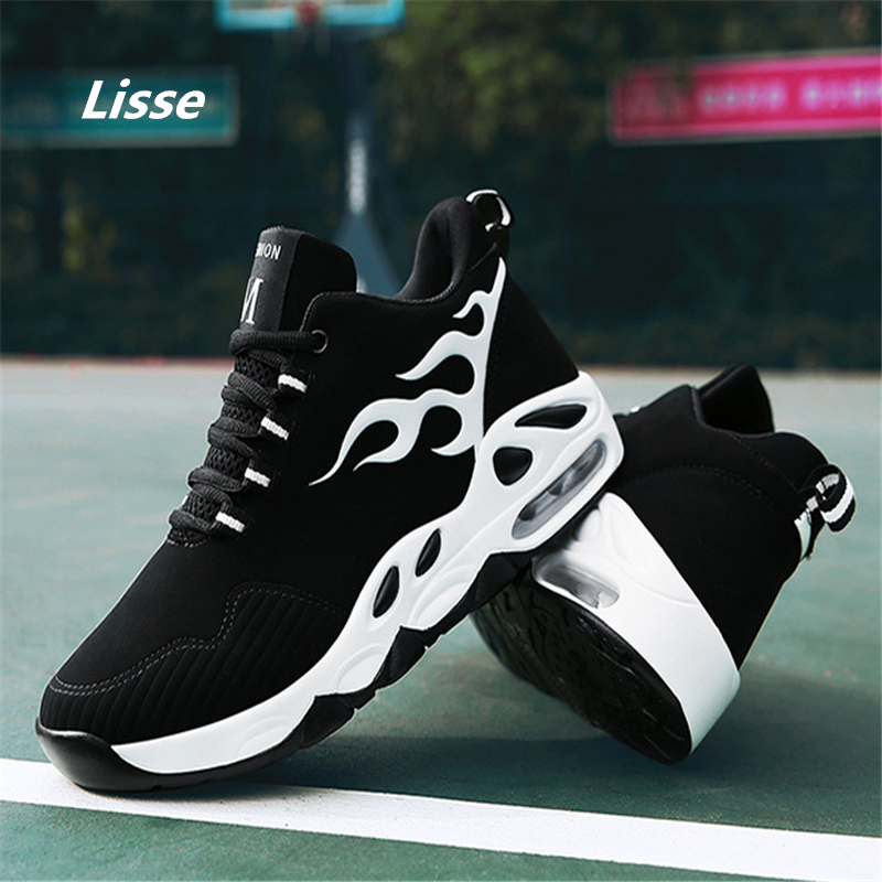 High quality 2018 Men Sneakers Jogging outdoor Women Running shoes Air damping woman and men Trainers Walking sports shoes