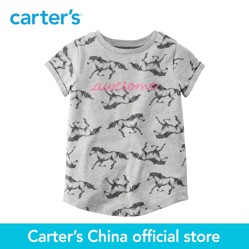 Carter s 1pcs baby children kids Awesome Tee 253G535 sold by Carter s China official store