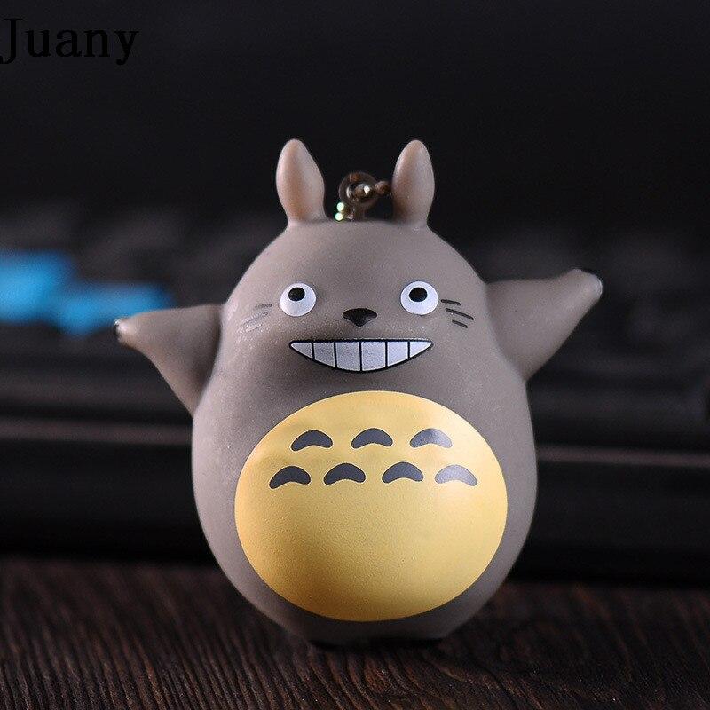 Purse Keychain Pendant Charm Ring-Totoro Neighbor My for Llaveros On-Bag Cute