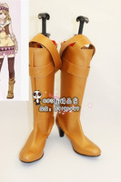 Tiger And Bunny Karina Girls Long Cosplay Shoes Boots X002