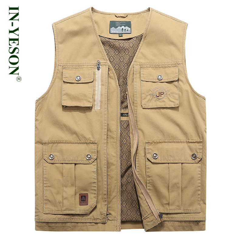 2018 New Outdoor Mens Vest Professional Photography Director Fishing Hiking Hunting Vest  Men Multi Pockets Waistcoat2018 New Outdoor Mens Vest Professional Photography Director Fishing Hiking Hunting Vest  Men Multi Pockets Waistcoat
