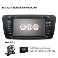 SMARTECH 2 Din Car Radio GPS Android 7 1 2 Quad Core 2GB RAM 16GB ROM