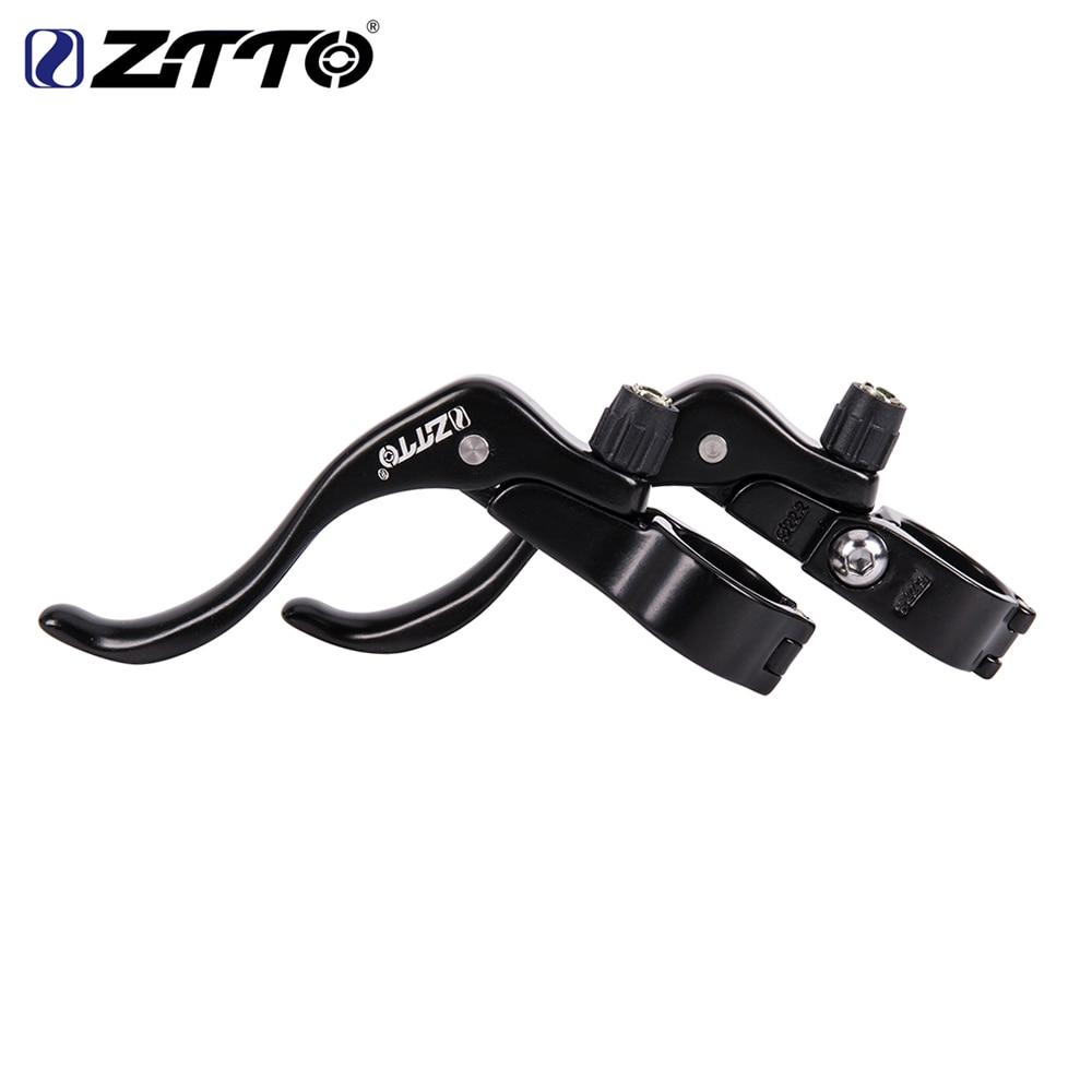 купить ZTTO A Pair Bicycle Brake Levers for Road bike Fixed gear deputy vice brake road bike parts brake handle недорого