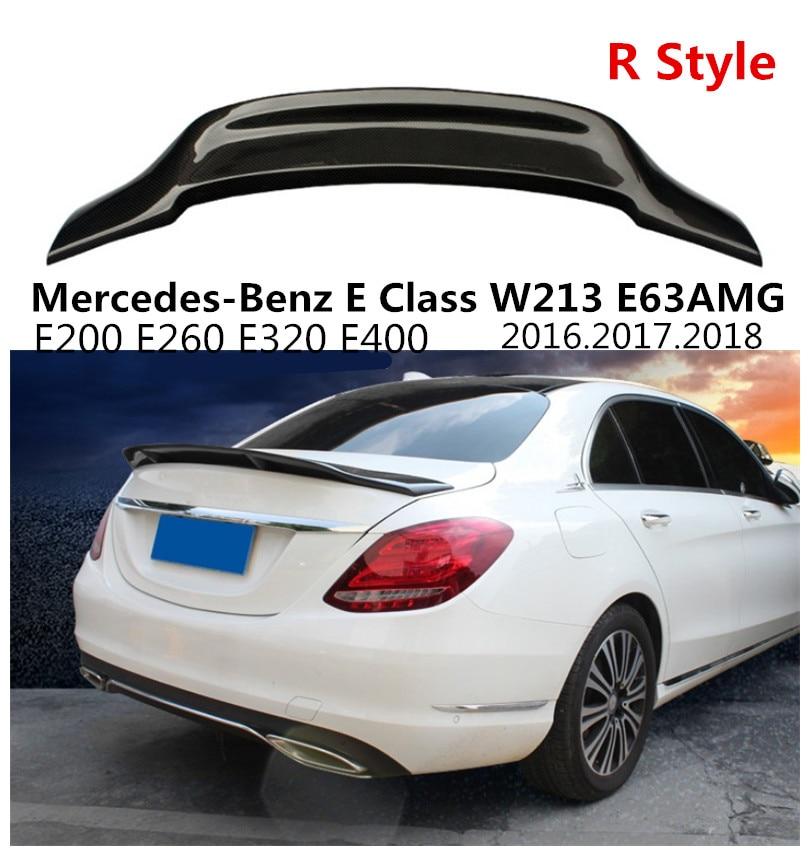 Carbon Fiber Spoiler For Mercedes Benz E Class W213 E63AMG