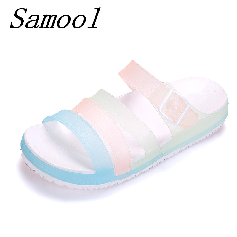 Women Slippers Summer Beach woman cool Shoes Fashion Open Toe Flip Flops Sandals Water Upstream Slides Beach soft shoes jx3 wholesale 5 woman foam open toe backless flip flops shoes slippers 1 pair