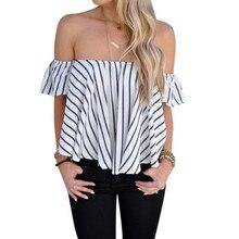 New Short Sleeve Crop Top Choker Slash Neck Black Pink Tshirt Women Off The Shoulder Tops For Women Tee Shirt Femme Au1