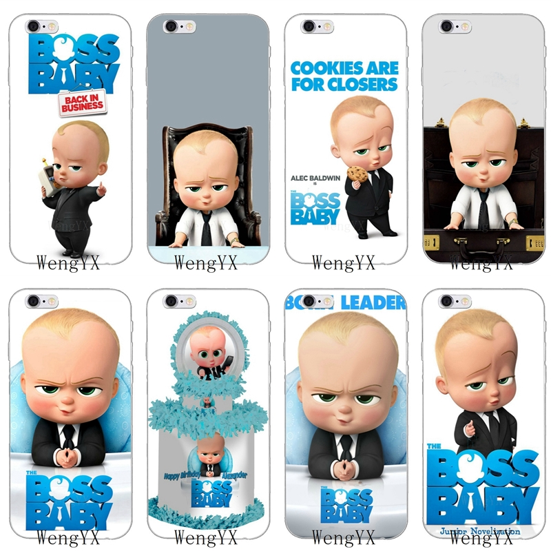 Us 1 99 Movie The Boss Baby Slim Silicone Soft Phone Case For Xiaomi Mi 6 A1 5 5s 5x Mix Max 2 Redmi Note 3 4 5 5a Pro Plus In Half Wrapped Cases