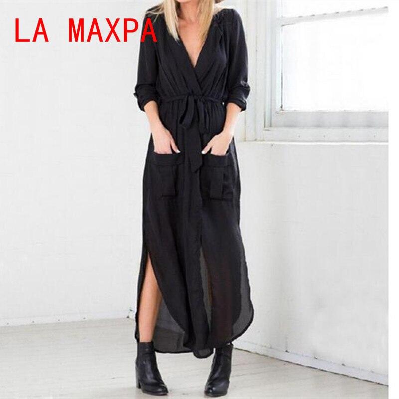 Vestido De verano Mujer 2018 Boho más tamaño túnica vendaje Maxi playa vestidos Sundress del verano Mujer Vestido De Festa