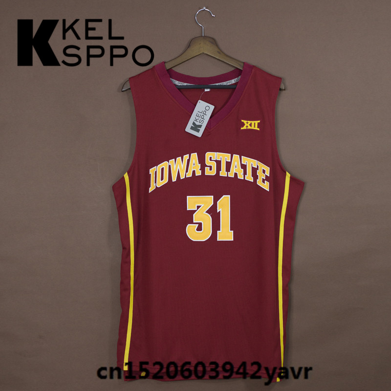 finest selection e945e 372f1 Custom Adult Throwback Basketball Jerseys #31 Georges Niang ...