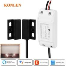 KONLEN Wi-Fi электрическая гаражная дверь Открыватель ворот реле переключатель контроллер Tuya умный дом автоматический Alexa Google Home мини ifttt
