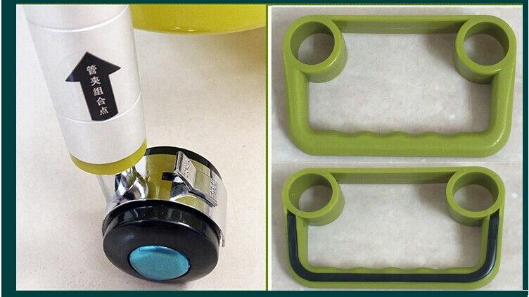Трехслойная подвижная стойка для хранения пространства алюминиевая полка для ванной холодильник зазор стеллаж для хранения с колесами - 3