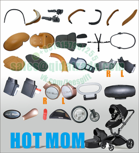 hot mom Hot Mom stroller foot cover replace front wheel rear wheel car seat adparter cup holder plastic parts(China)
