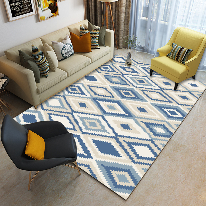 US $1.42 40% OFF|Nordic Minimalist Geometric Carpets For Living Room Rug  Modern European Coffee Table Mat/Rugs Bedroom Bedside Model Room Carpet-in  ...