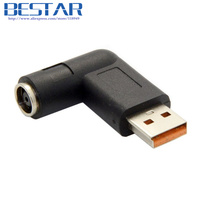 DC 7 9 5 4mm DC USB Jack To Special USB Charger Power Adapter 90 Degree