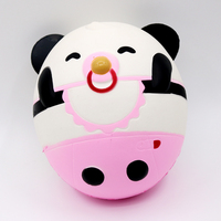 1pcs Jumbo 15cm Slow Rising Squishy Panda Baby Charms Toys Kid Gift