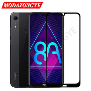 Glass Screen-Protector Huawei Honor JAT-LX1 Protective-Glass-Film Full-Cover for 8A